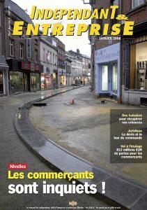 magazine sdi independant et entreprise janvier 2008 nivelles les commercants sont inquiets