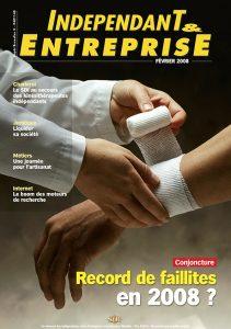 magazine independant et entreprise fevrier 2008 conjoncture record de faillites en 2008
