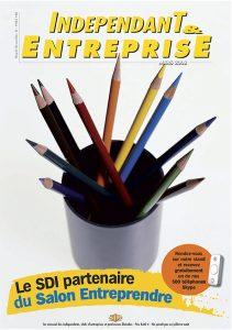 magazine sdi independant et entreprise mars 2008 le sdi partenaire du salon entreprendre