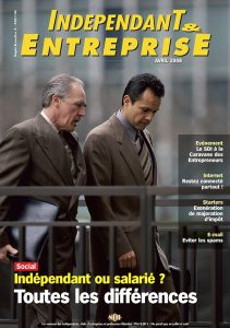 magazine sdi independant et entreprise avril 2008 social independant ou salarie toutes les differences