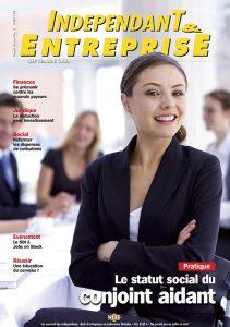 magazine sdi independant et entreprise septembre 2008 pratique le statut social du conjoint aidant