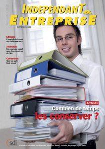 magazine sdi independant et entreprise octobre 2008 archives combien de temps les conserver
