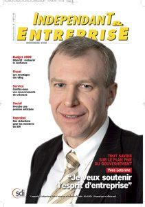 magazine sdi independant et entreprise novembre 2008 tout savoir sur le plan du gouvernement yves leterme je veux soutenir l esprit d entreprise