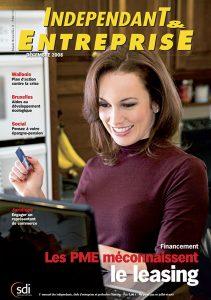 magazine sdi independant et entreprise decembre 2008 financement les pme meconnaissent le leasing