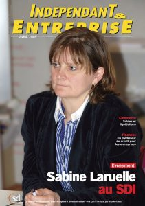 magazine sdi independant et entreprise avril 2009 evenement sabine laruelle au sdi