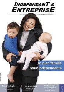 magazine independant et entreprise mai 2009 un plan famille pour independants