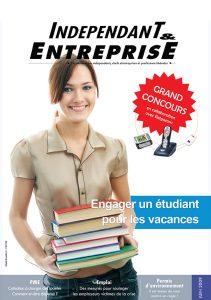 magazine sdi independant et entreprise juin 2009 engager un etudiant pour les vacances