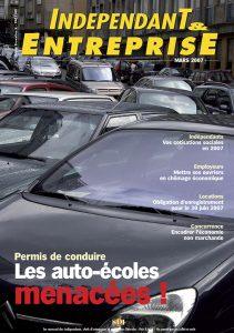 magazine sdi independant et entreprise mars 2007 permis de conduire les auto ecoles menacees