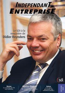 magazine sdi independant et entreprise decembre 2009 le sdi a la rencontre de didier reynders