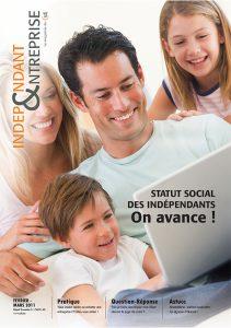 magazine sdi independant et entreprise fevrier mars 2011 statut social des independants on avance