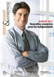 magazine sdi independant et entreprise avril mai 2011 budget nouvelles avancees pour les independants