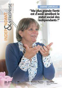magazine sdi independant et entreprise juin juillet aout 2011 sabine laruelle