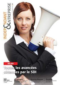 magazine sdi independant et entreprise mars avril 2012 bilan toutes les avancees obtenues par le sdi