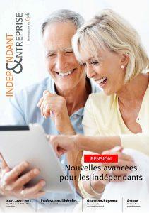 magazine sdi independant et entreprise mars avril 2013 pension nouvelles avancees pour les independants