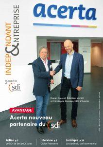 magazine sdi independant et entreprise avril mai 2019 acerta nouveau partenaire du sdi