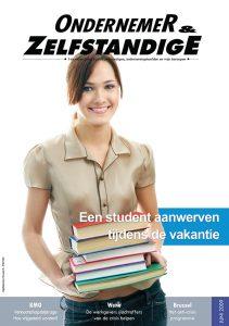 ondernemer zelfstandig tijdschrift sdz student aanwerven tijdens de vakantie
