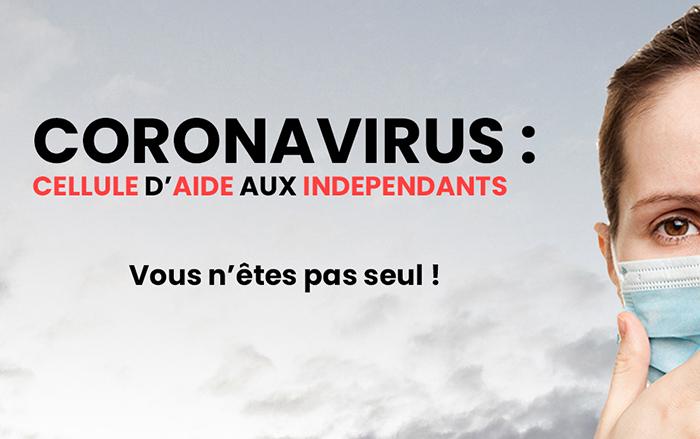 coronavirus cellule aide independants entreprises belgique crise indemnisation gouvernement