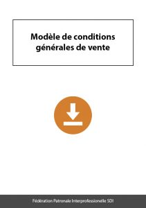 document a telecharger federation sdi modele conditions generales de vente