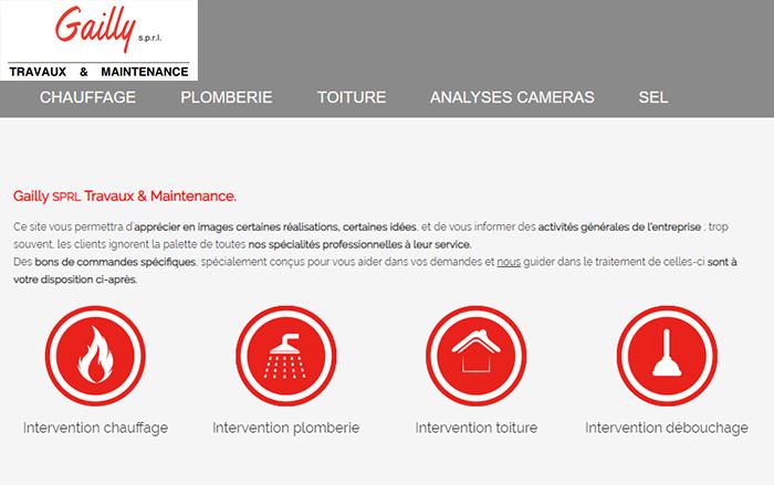 Gailly Travaux & Maintenance – Chauffage/Plomberie/Toiture – 1420 Braine-L'Alleud