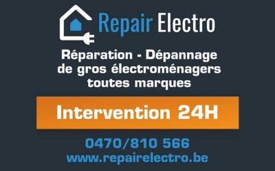 Repair Electro – Dépannage électroménager à domicile – 1300 Wavre