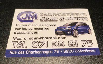 Carrosserie Jean & Mario – Carrosserie – 6200 Châtelineau