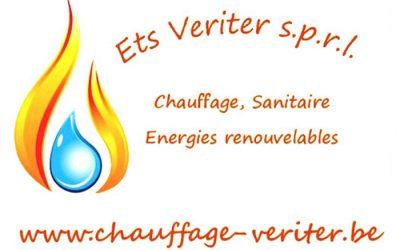ets veriter – chauffage & sanitaire – 7120 Estinnes au Mont