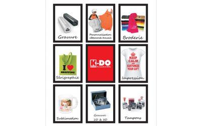 K-DO – Personnalisation d'objets – 1200 Bruxelles