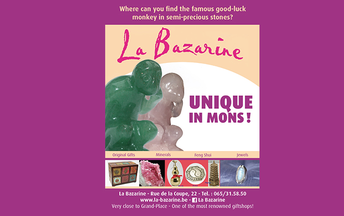 La Bazarine – Cadeaux, minéraux, artisanat – 7000 Mons