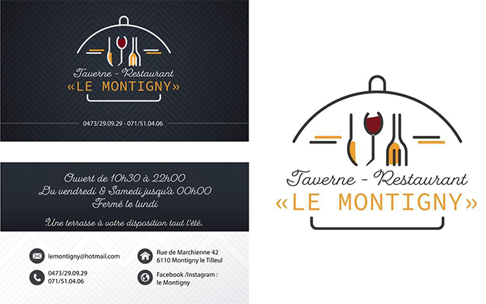 Le Montigny – Brasserie Restaurant – 6110 – Montigny-Le-Tilleul