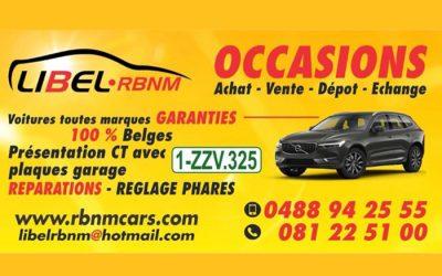 Libel rbnm cars – Achat et vente réparation toutes marques – 4460 Grâce Hollogne