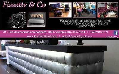 Fissette & Co – Garnissage de siège de tous style – 4683 Vivegnis