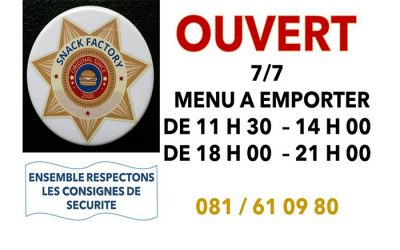 Snack Factory – Horeca – 5030 Ernage