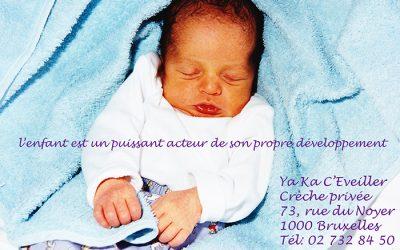 Ya Ka C'Eveiller – Crèche privée – 1000 Bruxelles