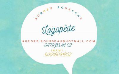Aurore Rousseau – Logopède – 5100 Jambes