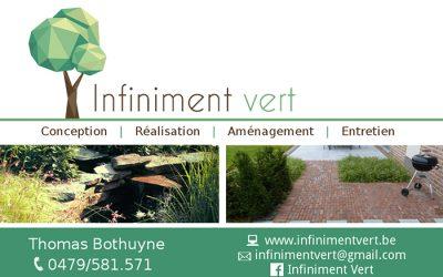 Infiniment vert – Aménagement de jardin – 7822 Isières