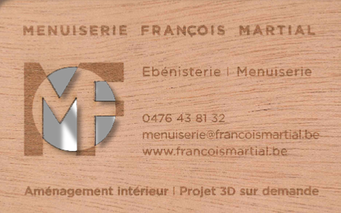 Menuiserie François Martial – Menuisier – 7830 Silly