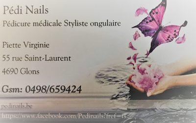 Pédi Nails – Pédicure médicale Prothésiste ongulaire – 4690 Glons