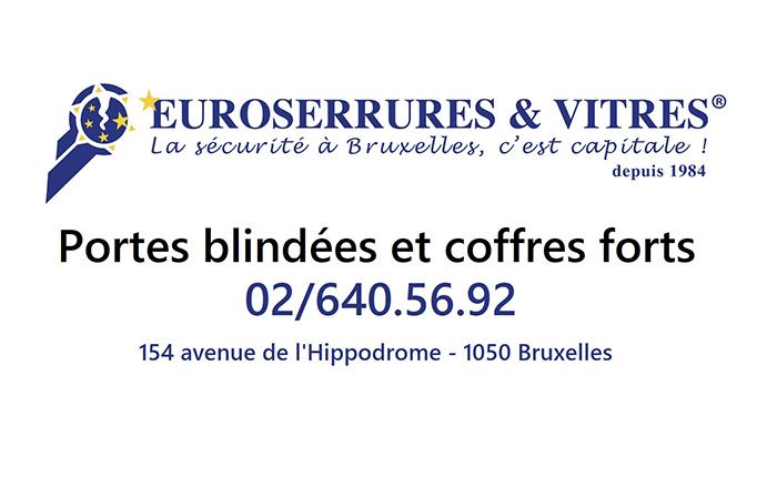 Euroserrures  SPRL – Serrurerie – 1050 Ixelles