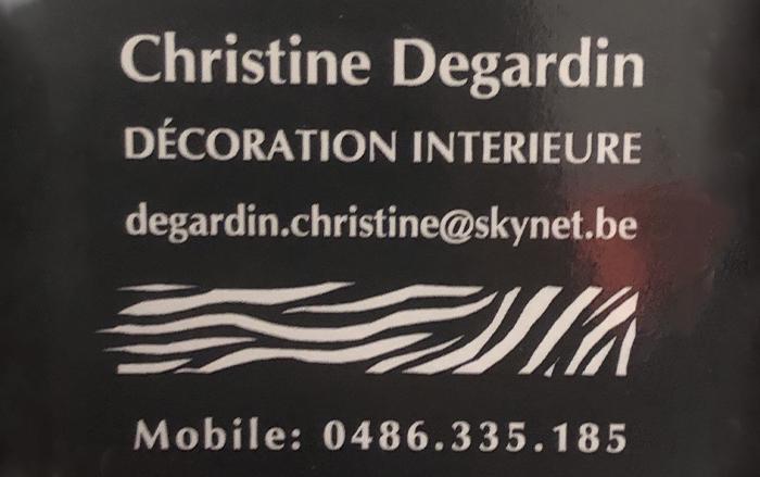 Degardin Christine – Décoration intérieure – 1470 Bousval