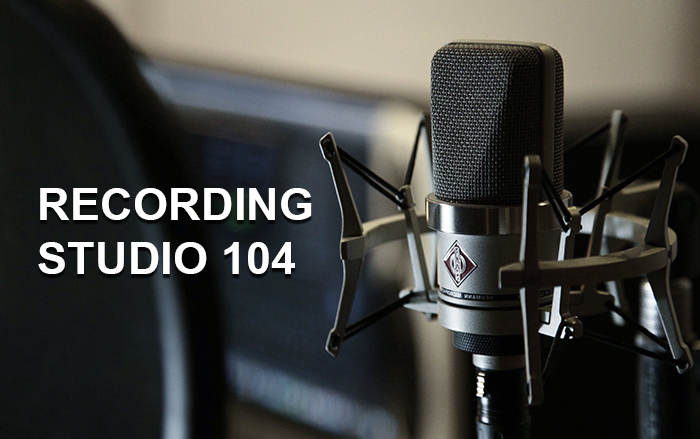 Recording studio 104 – Studio d'enregistrement – 1380 Lasne