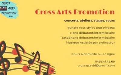 Cross Arts Promotion – Concerts/ateliers/stages/cours – 6030 Charleroi