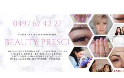 Beauty Presci – Bien être – 7330 Saint Ghislain