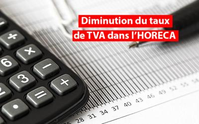 Impact sur les assujettis forfaitaires de la diminution temporaire du taux de TVA dans l'HORECA