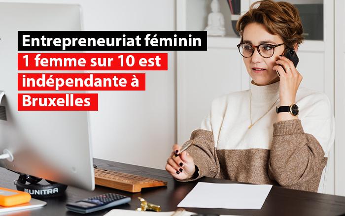 entrepreneuriat feminin en hausse bruxelles