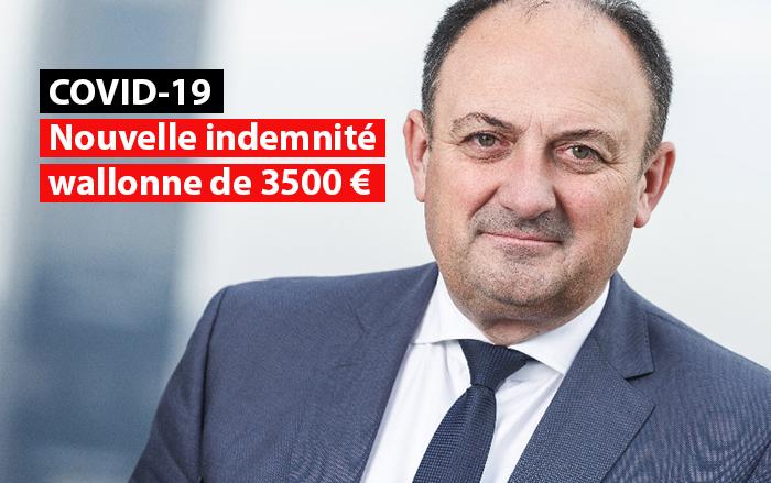 nouvelle prime covid willy borsus indemnité entreprises belges
