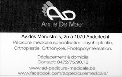 Annie De Maer – Médical – Bruxelles