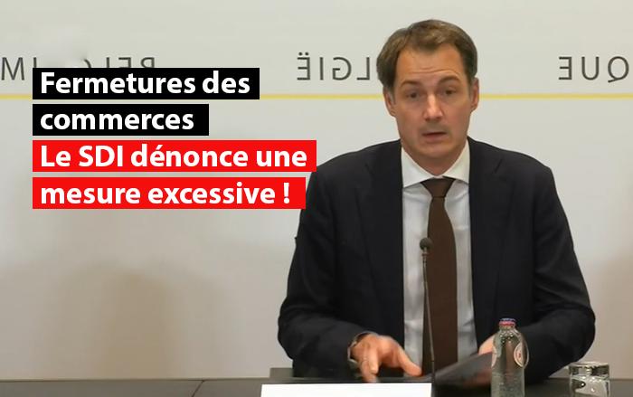 conseil national securite octobre coronavirus belgique fermeture des commerces