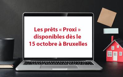 Financement : Les prêts « Proxi » disponibles dès le 15 octobre à Bruxelles