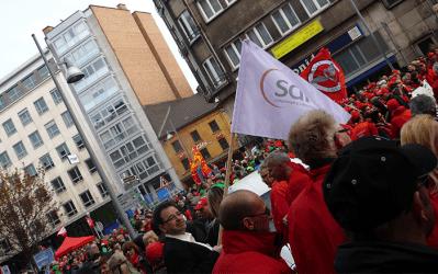 Participez à la grande manifestation des indépendants et des commerçants liégeois ce jeudi à 12H00 !