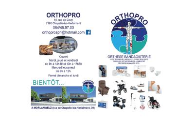 Orthopro – Bandagisterie – Chapelle-lez-Herlaimont
